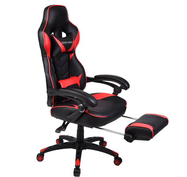 Excellent Affordable Reclining Ergonomic Gaming Racing Chair Just Like Machost Co Dining Chair Design Ideas Machostcouk